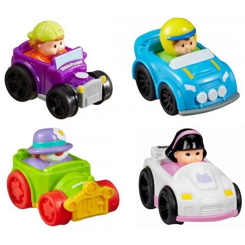 Fisher-Price Little People Wheelies - Οχηματάκια T5625 / ASST 027084916669