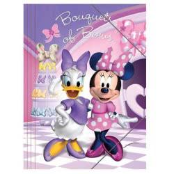 Diakakis imports Φάκελος με λάστιχο Minnie Mouse Α4 0561484 5205698198731