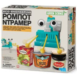 4M Κατασκευή Ρομπότ Ντράμερ 4M0409 4893156033727
