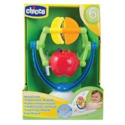 Chicco Μουσικά Φρούτα Για Κάθισμα Φαγητού 6M+ Y02-05833-00 8058664007363