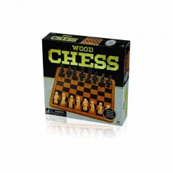 GIOCHI PREZIOSI CLASSIC GAMES WOODEN CHESS IN BOX NTC01000 8056379021766