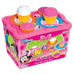 dede Σετ τσαγιού Cupcakes Minnie Mouse 03158WD 8693830031584