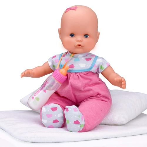 As company Nenuco Κούκλα Με Μαγικό Μπιμπερό Και Ροζ Φορμάκι 4104-12691-pink 8410779021663