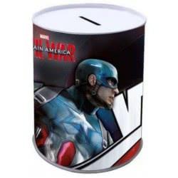 Diakakis imports Μεταλλικός Κουμπαράς Captain America 0500776 5205698191077