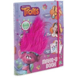 GIOCHI PREZIOSI Trolls Make Up Book TRL05010 8056379014799