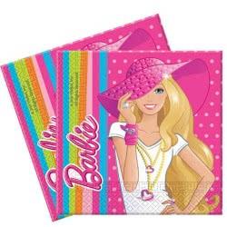 PROCOS Χαρτοπετσέτες Barbie Dollicious 2φ 080317 5201184803172