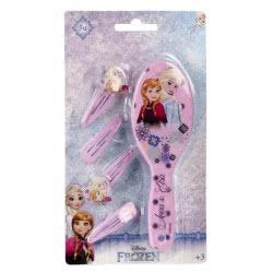 Loly Disney Frozen βούρτσα και τσιμπιδάκια ροζ 2500000587B 8427934908981
