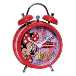 GIM Ρολόι Ξυπνητήρι μεταλλικό Minnie Mouse 553-62653 5204549083295