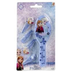 Loly Disney Frozen βούρτσα και τσιμπιδάκια γαλάζιο 2500000587A 8427934908998