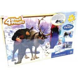 GIOCHI PREZIOSI Παζλ Ξύλινο Disney Frozen 24 Τεμ FRN46000 8056379021414