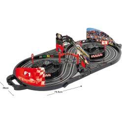 Toys-shop D.I B/O Αυτοκινητόδρομος μπαταρίας πτυσσόμενος σε βαλίτσα JB049607 6990416496075