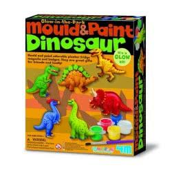 4M Δεινόσαυροι Μαγνητάκια/Καρφίτσα Κατασκευή 3514 4893156035141