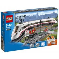 LEGO City Trains Επιβατικό Τρένο Υψηλής Ταχύτητας 60051 5702015119320