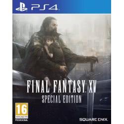 SQUARE ENIX PS4 Final Fantasy XV Steelbook Special Edition 5021290073715 5021290073715