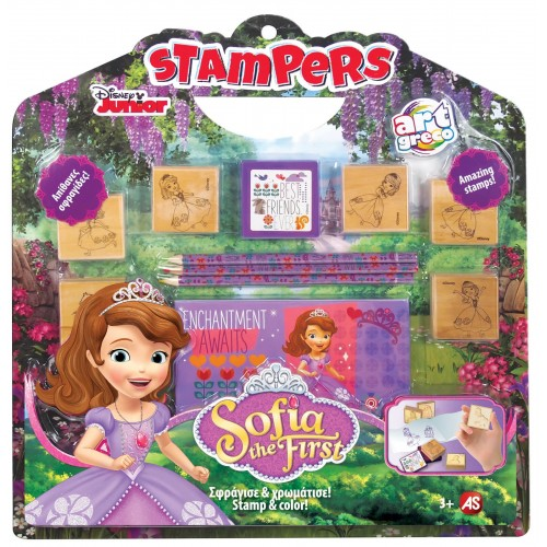 As company Σετ σφραγίδες Stampers Sofia The First 1023-63022 5203068630225