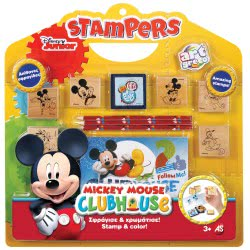 As company Σετ σφραγίδες Stampers Mickey Mouse 1023-63024 5203068630249