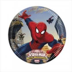 PROCOS Πιάτα Ultimate Spiderman-Web Warriors Marvel Μεσαία 8τμχ 085152 5201184851524