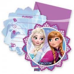 PROCOS Προσκλήσεις Και Φάκελα Frozen Northern Lights Disney 6Τμχ 086919 5201184869192