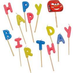 PROCOS Κερια Γενeθλίων Happy Birthday Disney Cars 009825 5201184098257