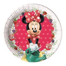 PROCOS Πιάτα Minnie Jam Packed With Love Disney Μεσαία 8 τμχ 086580 5201184865804