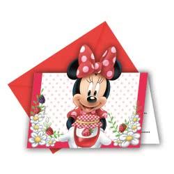 PROCOS Προσκλήσεις & Φάκελα Minnie Jam Packed With Love Disney 6τμχ 086585 5201184865859