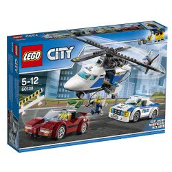 LEGO City Καταδίωξη σε Υψηλή Ταχύτητα 60138 5702015865258