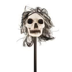 CLOWN Σκελετός Με Μαλλιά Και Αποσπώμενο Κοντάρι 120Εκ 72075 5203359720758