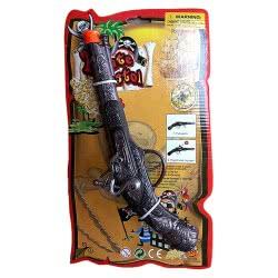 CLOWN Όπλο Μεταλλική Κουμπούρα Πειρατή 8Σφαίρη 72158 5203359721588