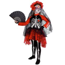 CLOWN ΣΤΟΛΗ DAY OF THE DEAD (GIRL) No. 12 81812 5203359818127