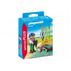 Playmobil Young Explorer with Otters 5376 4008789053763