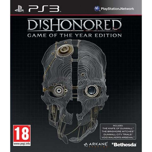 Bethesda PS3 Dishonored - Game Of The Year Edition 093155149564 093155149564