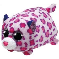 ty Beanie Boos μικρή χνουδωτή λεοπάρδαλη ροζ 4,5εκ. 1607-42168 008421421688