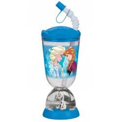 Gialamas Ποτήρι με χιονόμπαλα Disney Frozen snowflakes TRU62786 063562627863