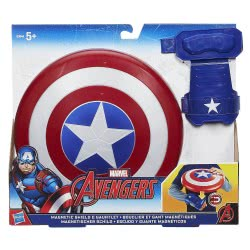 Hasbro CAPTAIN AMERICA MAGNETIC SHIELD AND GAUNTLET B9944 5010993339822