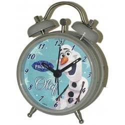 GIM Ρολόι Ξυπνητήρι μεταλλικό Disney Frozen Olaf 551-95653 5204549091535