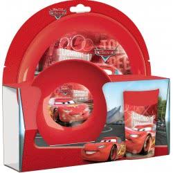 Gialamas Disney Cars Παιδικό Σετ πρωινού 3 τεμ TRU63100 063562631006