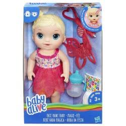 Hasbro BABY ALIVE FACE PAINT FAIRY BLONDE – BABY ALIVE Αννούλα ζωγραφούλα B9723 5010993337170