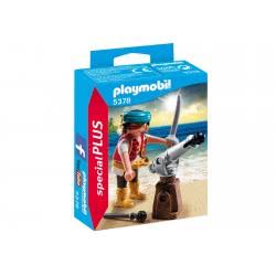 Playmobil Πειρατής με κανόνι 5378 4008789053787