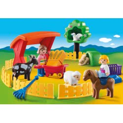 Playmobil Ζωάκια φάρμας με περίφραξη 6963 4008789069634