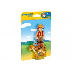 Playmobil 123 Θηροφύλακας με τίγρη 6976 4008789069764