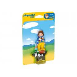 Playmobil 123 Κορίτσι Με Σκυλάκι 6977 4008789069771