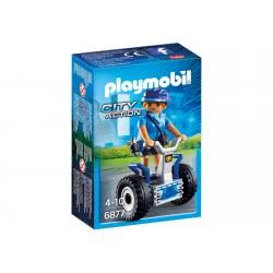 Playmobil Policewoman With Balance Racer 6877 4008789068774