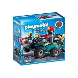 Playmobil Ληστής Με Γουρούνα Και Κλοπιμαία 6879 4008789068798