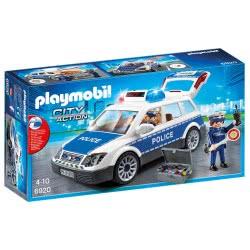 Playmobil Περιπολικό Όχημα Με Φάρο Και Σειρήνα 6920 4008789069207
