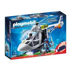 Playmobil Ελικόπτερο Αστυνομίας με προβολέα LED 6921 4008789069214