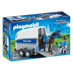 Playmobil Police with Horse and Trailer 6922 4008789069221