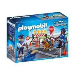 Playmobil Οδόφραγμα Αστυνομίας 6924 4008789069245