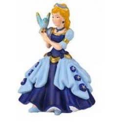 papo Μπλε Πριγκίπισσα Με Πουλί 39035 PAPO 3465000390358