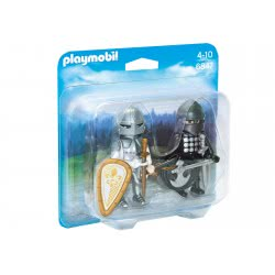 Playmobil Duo Pack ιππότες με πανοπλία 6847 4008789068477