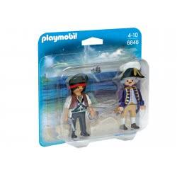 Playmobil Duo Pack πειρατής και στρατιωτικός 6846 4008789068460